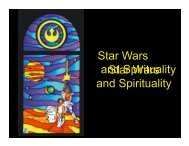 14 Star Wars Religious Themes.pps - Memorial University of ...