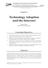 Selected styles in web-based educational research - Memorial ...