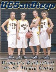 2006-07 UCSD Women's Basketball Media Guide - UC San Diego ...
