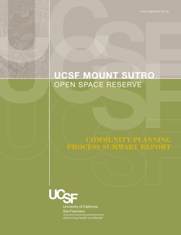 UCSF_SutroReport v6.indd - University of California, San Francisco