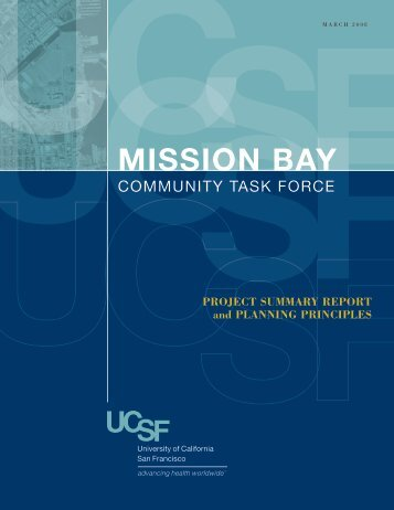 UCSF Mission Bay Community Task Force Project Summary Report ...
