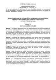 DECRETO 276 FECHA: 09-06-89 CARLOS ANDRES PEREZ ...