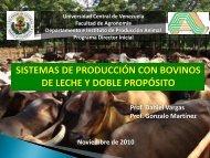 CLASE III (Vacunos_Leche) - Universidad Central de Venezuela