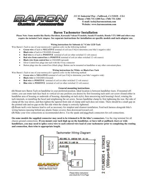 Harley Tach Wiring Diagram from img.yumpu.com