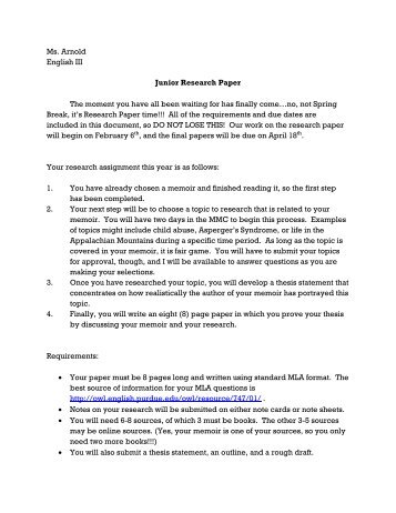 Junior research paper | Custom Nonverbal Communication essay writing