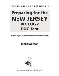 biology eoc review packet new jersey answers