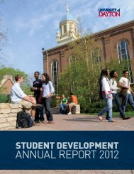 Annual Report 2012-2013 - University of Dayton
