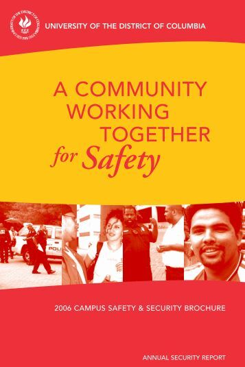 forSafety - University of the District of Columbia