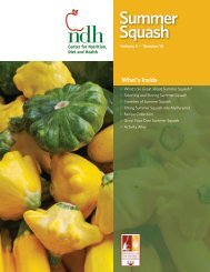 Summer Squash - University of the District of Columbia