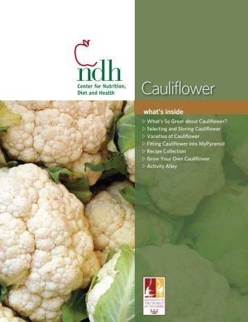 Cauliflower - University of the District of Columbia