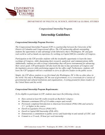 internship guidelines Students in the electrical engineering department and computer engineering  program have often been attracted to off-campus part-time internships during the .