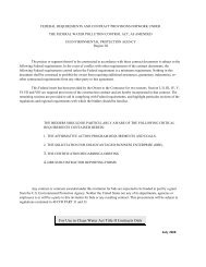 federal requirements and contract provisions for tub