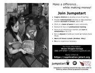 Join Jumpstart