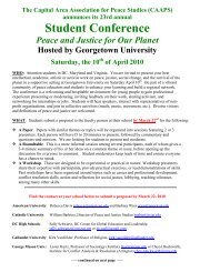 Call for Papers - University of the District of Columbia