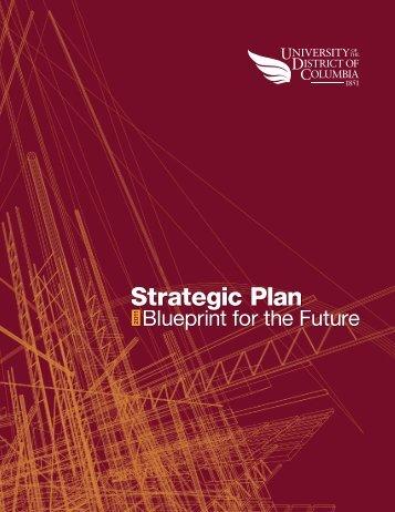 2011 Strategic Plan - University of the District of Columbia