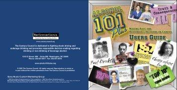 Alcohol 101 Plus Booklet