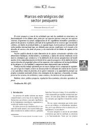 Marcos pesqueros del Sector Estratégico - Universidade da Coruña