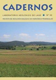 cadernos do laboratorio xeolóxico de laxe 32 - Universidade da ...