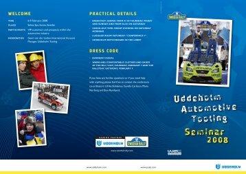 Uddeholm Automotive Tooling Seminar