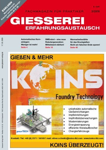 Giesserei Verlag 3/2009