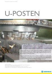 Uddeholms kunder betaler kun for prima materiale ... - Uddeholm A/S