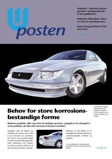 Behov for store korrosions- bestandige forme - Uddeholm A/S