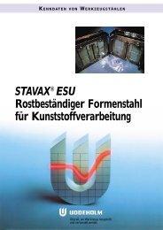 STAVAX ESU Ty-98 - Uddeholm