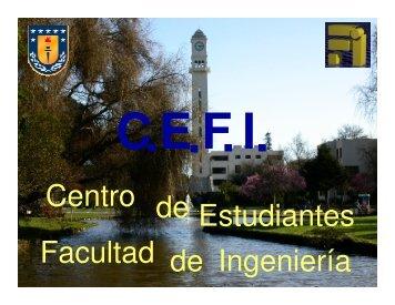 """charla """"infomechon"""" - Universidad de Concepción"""