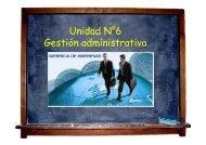 Unidad N°6 Gestión administrativa