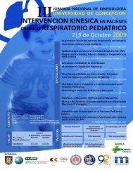 III Jornada de Kinesiología Respiratoria - Universidad de Concepción