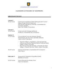 CALENDARIO ACTIVIDADES 92º ANIVERSARIO MES DE MAYO ...
