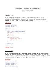 Algoritmos y lenguaje de programación Pauta Certamen nº2 ...