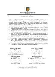 Declaración Pública 29 de agosto de 2011 - Universidad de ...