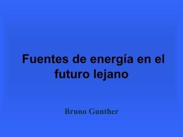 Fuentes de Energía en el futuro lejano