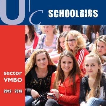 Schoolgids VMBO 2012 - 2013 - Udens College