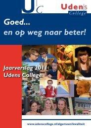 Jaarverslag 2011 - Udens College