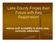Lake County Forges their Lake County Forges their Future with Keg ...