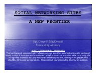 social networking sites a new frontier - Underage Drinking ...