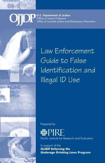 Law Enforcement Guide to False Identification and Illegal ID Use