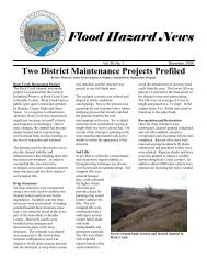 Two District Maintenance Projects Profiled - Urban Drainage and ...