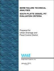 SPR Gravel Pit Berm Failure Technical Analysis - Urban Drainage ...