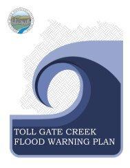 TOLL GATE CREEK FLOOD WARNING PLAN - Urban Drainage ...