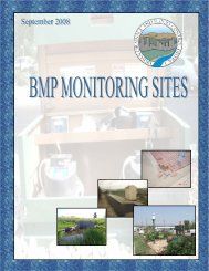 BMP Monitoring Sites - Urban Drainage and Flood Control District