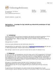 Høringsbrev – kryssløp fra Vg1 teknikk og industriell ... - Udir.no