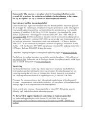 Læreplanverket for Kunnskapsløftet midlertidig utgave 2006 - Udir.no