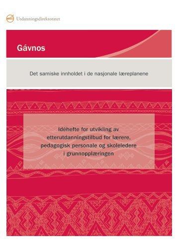 Last ned idéhefte for utvikling av etterutdanningstilbud (pdf) - Udir.no