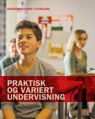 Praktisk og variert undervisning - Udir.no