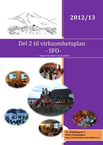 en felles virksomhetsplan (pdf) - Udir.no
