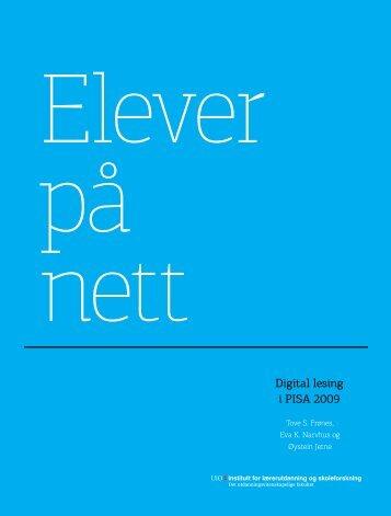 Digitale leseferdigheter - Udir.no