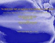 ODAS-1 - NASA Global Modeling and Assimilation Office